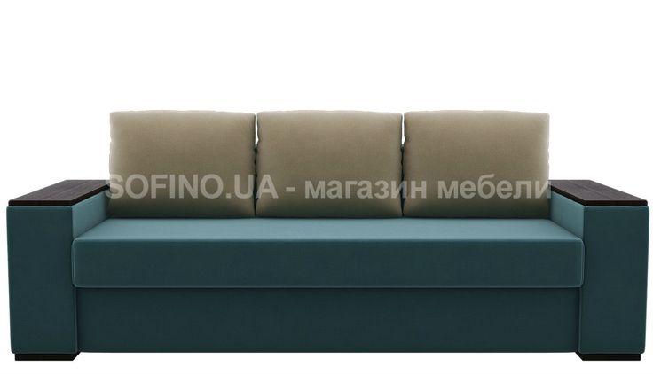 Прямой диван Сидней отлично впишется даже в маленькую гостиную.  Обратите внимание на подлокотники. Сверху твердые накладки. Их смело можно использовать в качестве подставки для чашек с любимыми напитками. Диван раскладывается при помощи механизма трансформации Еврокнижка. Он подходит для ежедневного сна, ведь внутри есть ортопедический пружинный блок. А еще в этом диване белоснежный бельевой короб, который подойдет для хранения абсолютно любых вещей.