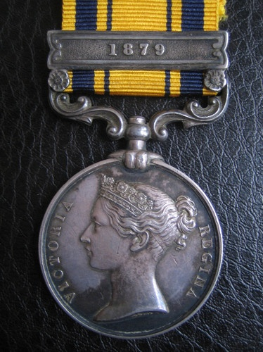 Zulu War Campaign medal -Trooper Arthur J. Mansfield was twice wounded in the arm during the night raid by Basuto's on a 48 man piquet of 'E' troop 3rd Cape Mounted Yeomanry, Morosi's Mountain, 29th May 1879. 8 men of the 3rd CMY were killed and 9 wounded during what the papers of the day called a 'disaster'.