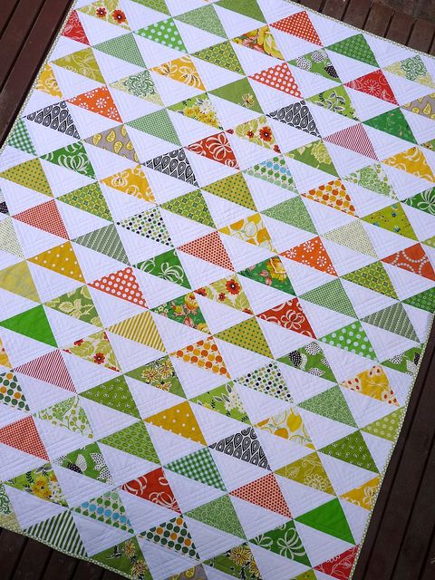 HST Scrap Quilt: Scrap Quilts, Quilting Ideas, Quilt Inspiration, Halfsquare, Quilt Ideas, Hst Quilt, Triangle Quilts, Half Square Triangles, Hst Scrap