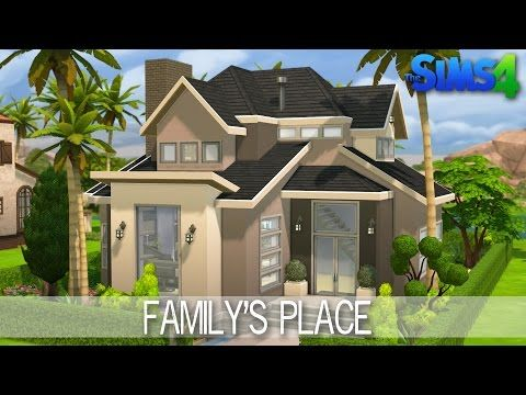 How To Build A Family House In Sims  Youtube
