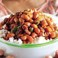 Recept - Surinaamse bruine bonen met rijst - Allerhande