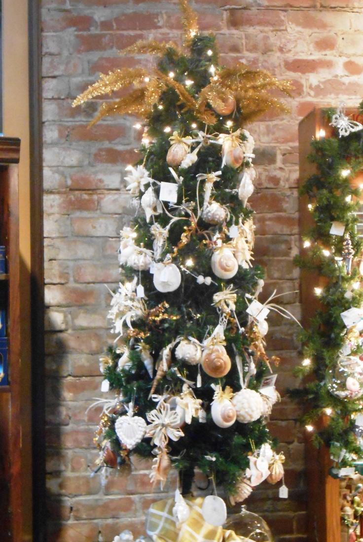 Amelia island christmas tree lighting at amelia island plantation - Gorgeous Sea Shell Tree Christmas Shop At Amelia Island Fl