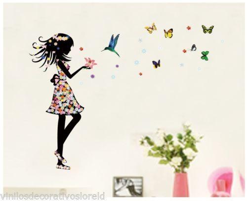 17 mejores im genes sobre nuevas llegadas en pinterest for Mural de flores y mariposas