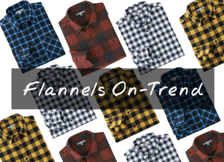 17 Mens Flannel Shirts for 2016 - Best Plaid & Check Flannels for Men Into 2017
