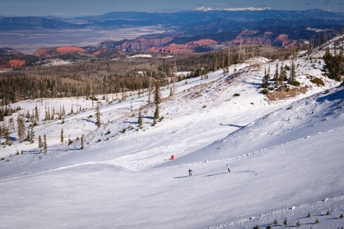 View i had while snowboarding in brian head images frompo for Brian head ski resort cabin rental