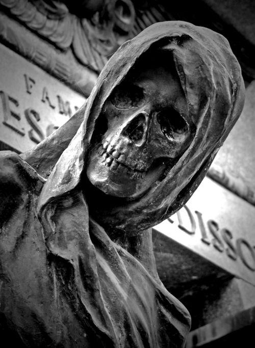 Cemetery Statue -