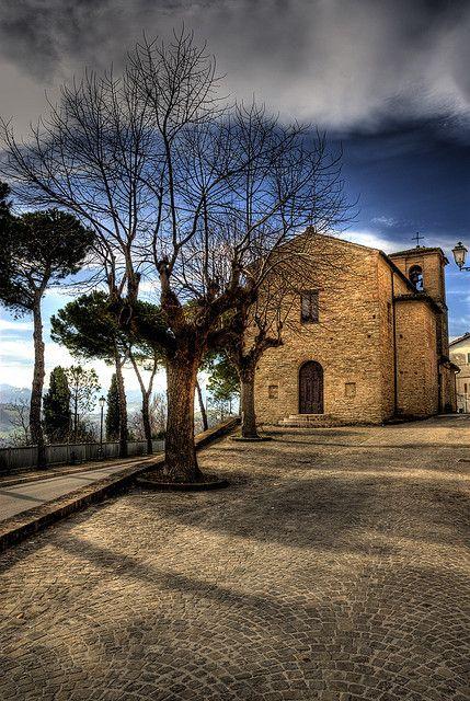 Chiesa della Cancellata a Maiolati Spontini. #marche #destinazionemarche #marchetourism #turismomarche