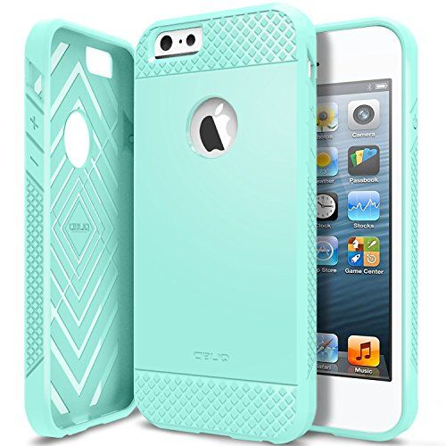 iPhone 6 Case, Obliq [Non-Slip] [Slim Fit] iPhone 6 (4.7) Case [Flex Pro][Mint] - Anti Shock Soft Jelly Case Cover - Best Apple iPhone 6 Armor case for 4.7 Inch (2014)-(Does NOT fit iPhone 5 5S 5C 4 4s or iPhone 6 Plus 5.5 inch screen) Obliq http://www.amazon.com/dp/B00LU2JM42/ref=cm_sw_r_pi_dp_RZlHub00SCBV7