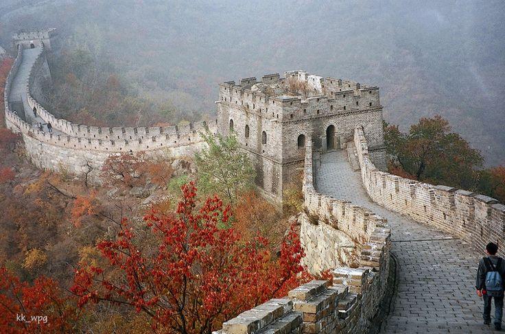 25лучших достопримечательностей мира.Участок Великой Китайской стены Мутяньюй, Пекин, Китай