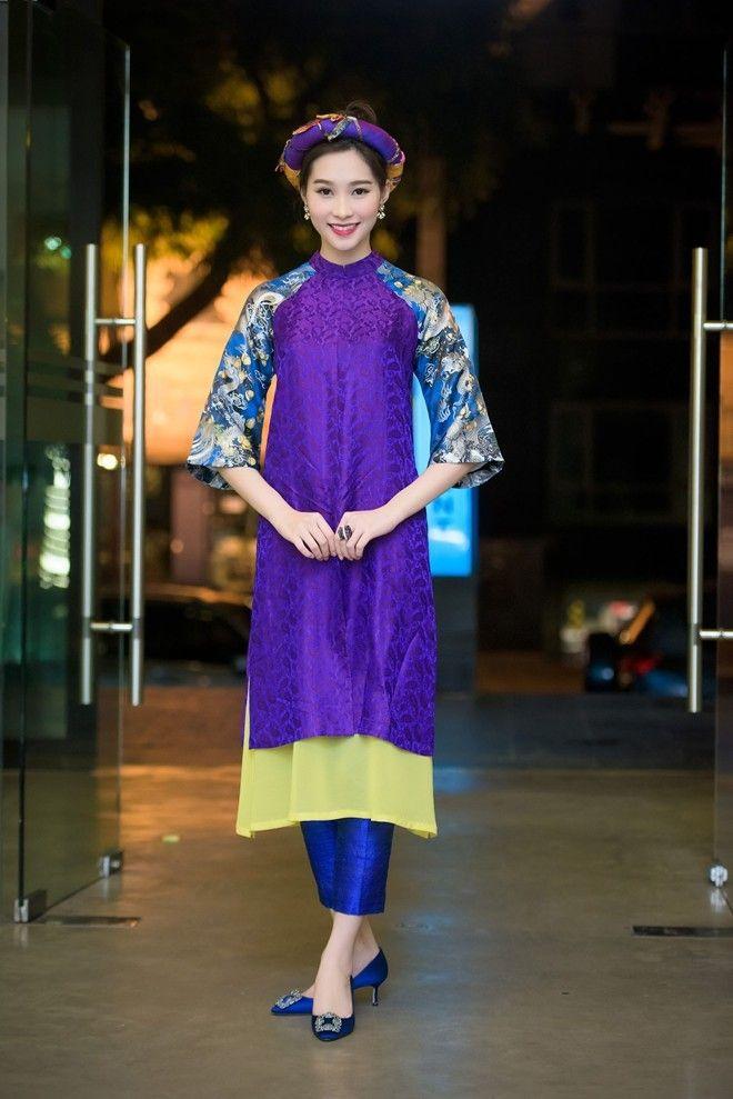 Sao Việt chuộng mốt áo dài cách tân dự sự kiện