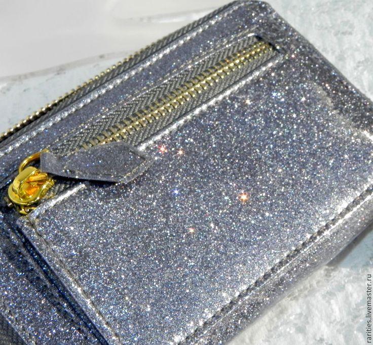 Купить Бумажник,кошелёк с ремешком Хранитель мечты,Kirks Folly,США,блестящий - бумажник, кошелек