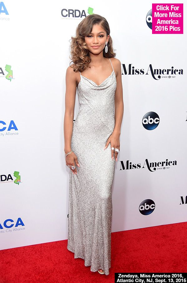 2016 Miss America Contestants PICS  | Zendaya At Miss America Pageant — Stuns In Silver Gown - Hollywood ...