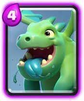 Resultado de imagen para clash royale bebe dragon y dragon infernal