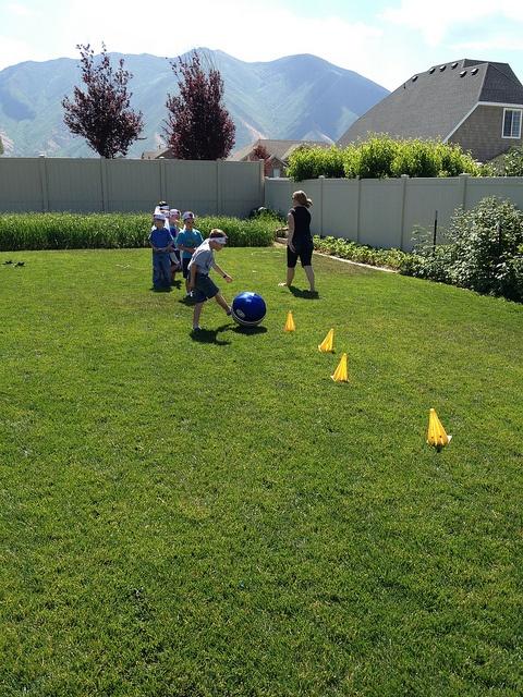 Activity #3 Ninja agility obstacle course.