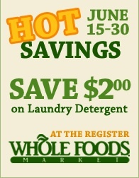 Save from 6/15 to 6/30 on our #allnatural #hypoallergenic #nontoxic laundry detergent at http://www.ifyoucare.com