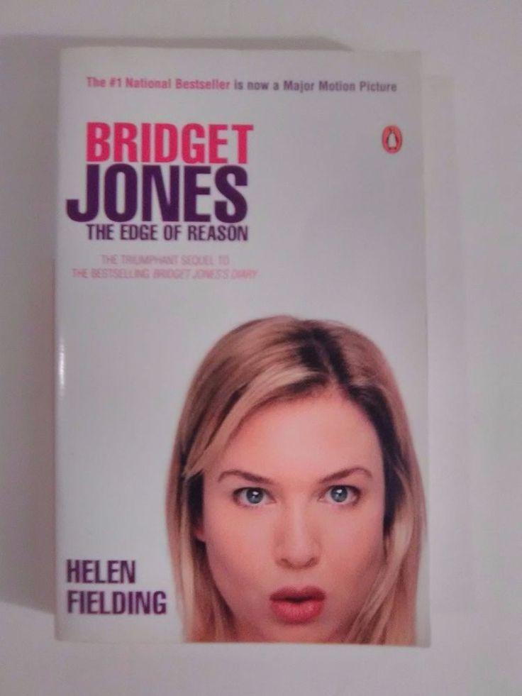 Bridget Jones The Edge of Reason by Helen Fielding Paperback book