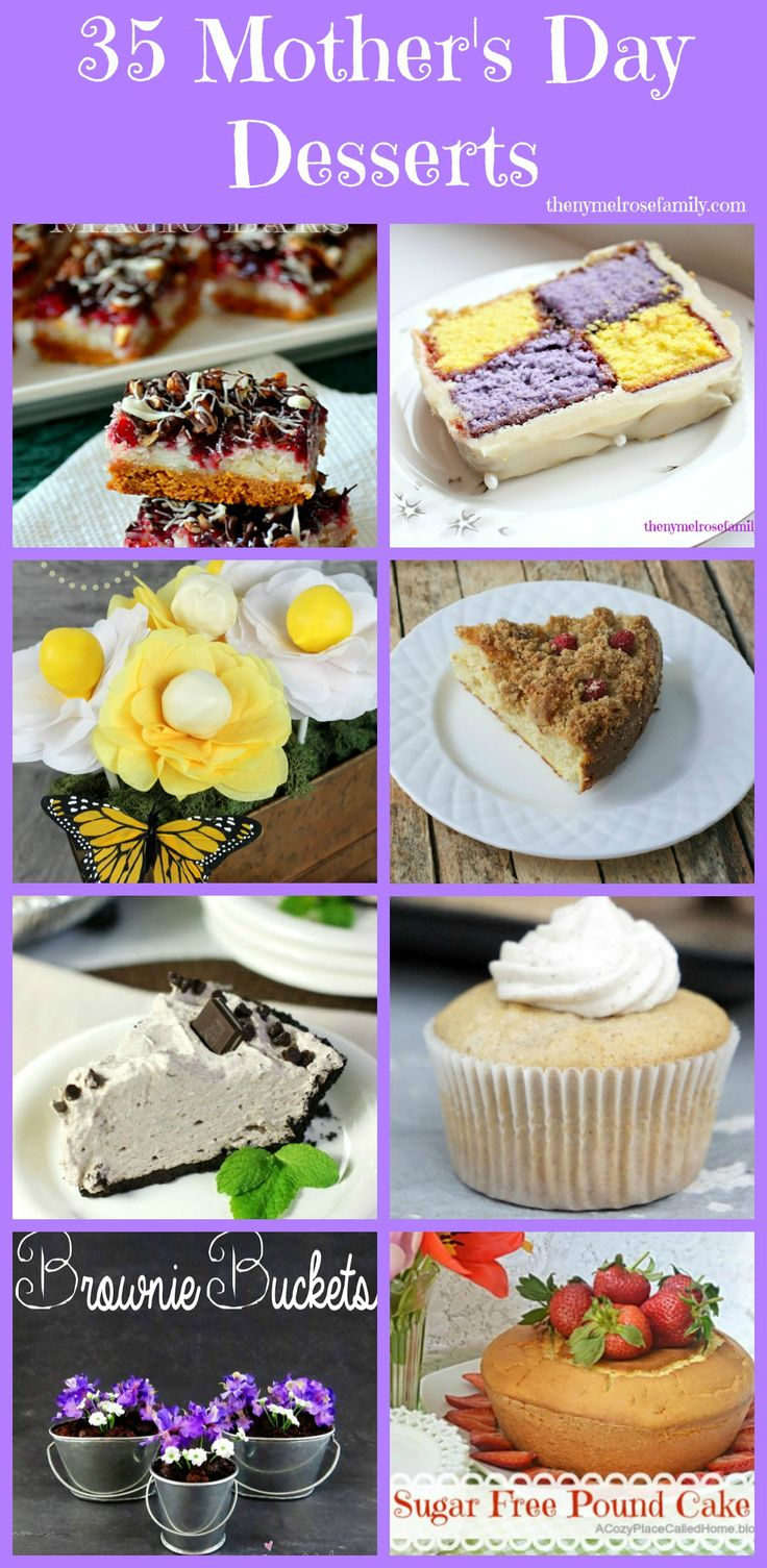 35 Mother's Day Desserts