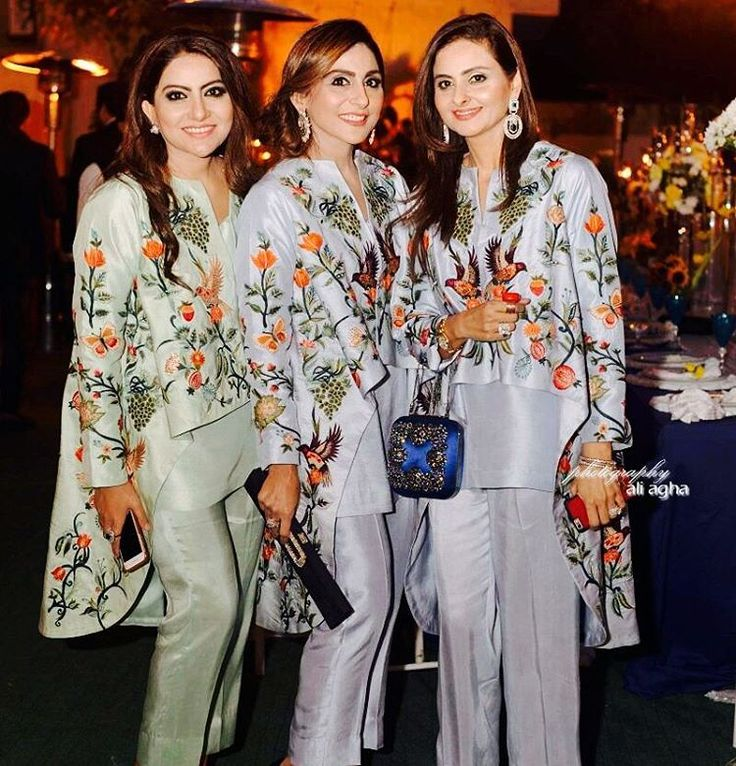 The Gulzar Ladies stun in IVY Luxury Pret. Get these dresses today at our Lahore Flagship Store at 18th Avenue, Hussain Chowk (next to ECS). #Lahore #Islamabad #Karachi #GulzarLadies #wow #stunning #amazing #pretty #mustwear #luxury #embroidery #grey #green #fashion #forever #bestdressed #Ladies #Events #winter #Color #Trend #delhi #dubai #london