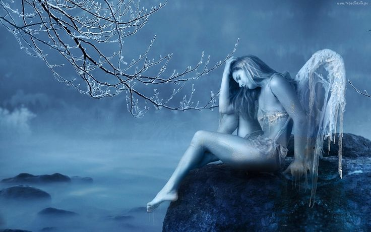 Kobieta, Anioł, Fantasy