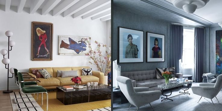 20 best good decorating advice images on pinterest for Difference between modern and contemporary