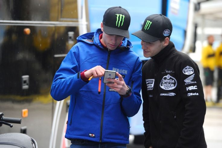 Quartararo, Alex Marquez, Jerez Moto2/3 Test March 2015