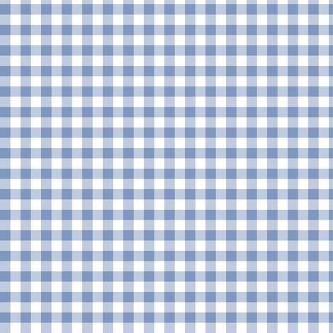 frosty blue gingham fabric by weavingmajor on Spoonflower - custom fabric