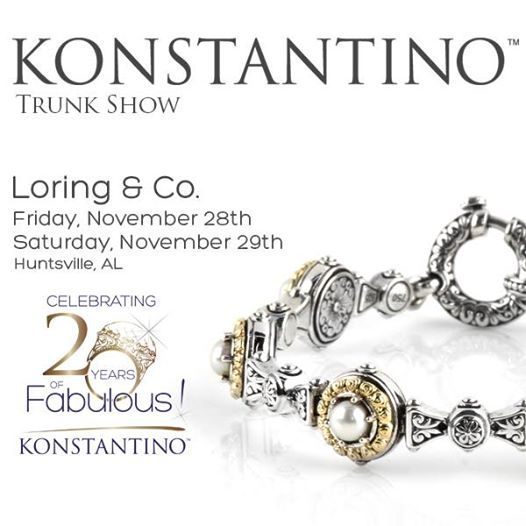 Trunk Show: November 28-29 Loring & Co., Huntsville, AL