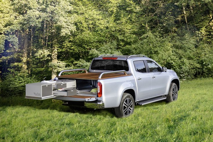 Mercedes-Benz X-Class camping concepts are for the posh outdoorsman  ||  Mercedes-Benz has developed a range of outdoorsy aspirations for the newly introduced X-Class pickup truck. At the 2018 Caravan Motor Touristik (CMT) show starting January 13 in Stuttgart, Germany, the luxury brand will debut two X-Class camping concepts: the X-Class Tischer body and VanEssa built-in kitchen. The…