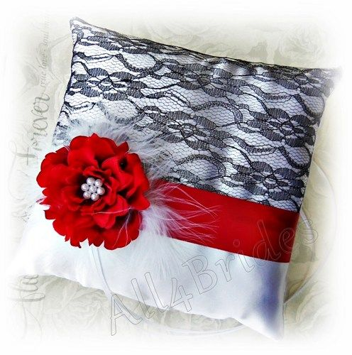 Modern Ring Pillows : 17 Best images about Modern Weddings on Pinterest Dark grey weddings, Police wedding and Ring ...