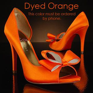 Orange shoes! How do you feel about these @kristinewalinski ?