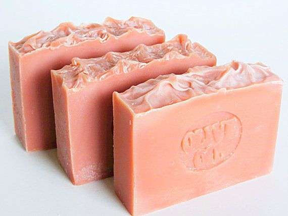 Cherry Almond Soaps  Olive Oil Soaps  artisan by AromaScentsLLC  **Yum!  #handmade  #soaps  #cherry