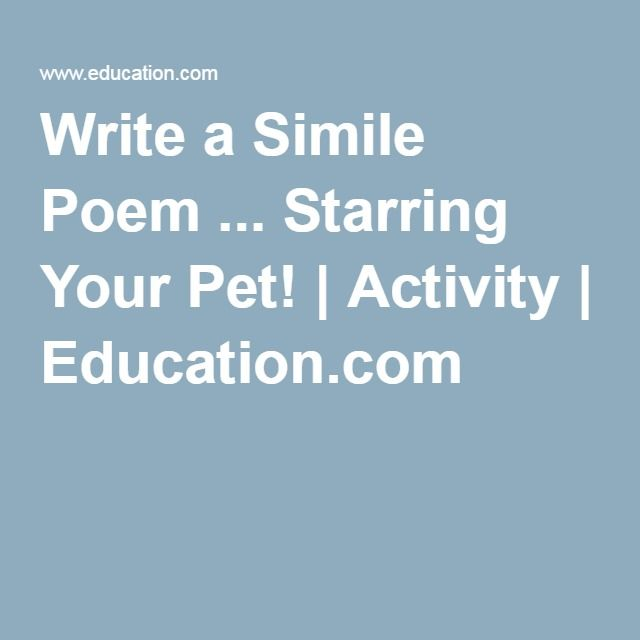 the use of simile in poetry Definition of simile simile is an explicit comparison between two unlike things through the use of connecting words, usually like or as the technique of simile is known as a rhetorical analogy, as it is a device used for comparison.