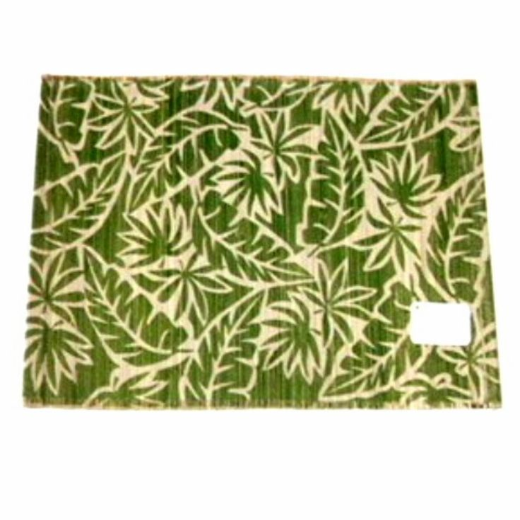 Tropical Fabric Placemats Botanical Leaf 21 95 Tropical Home Decortropical Fabric