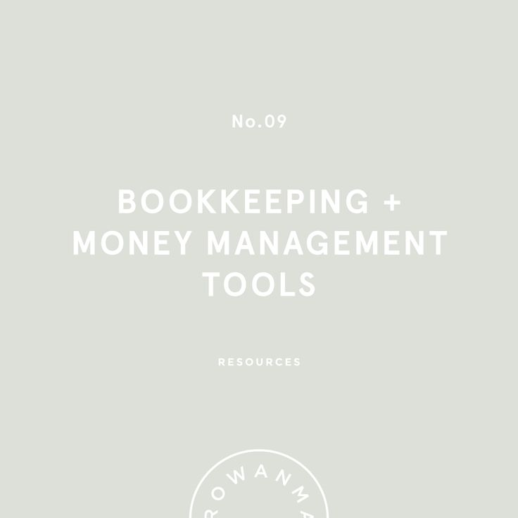 Money Management & Bookkeeping | By Rowan Made
