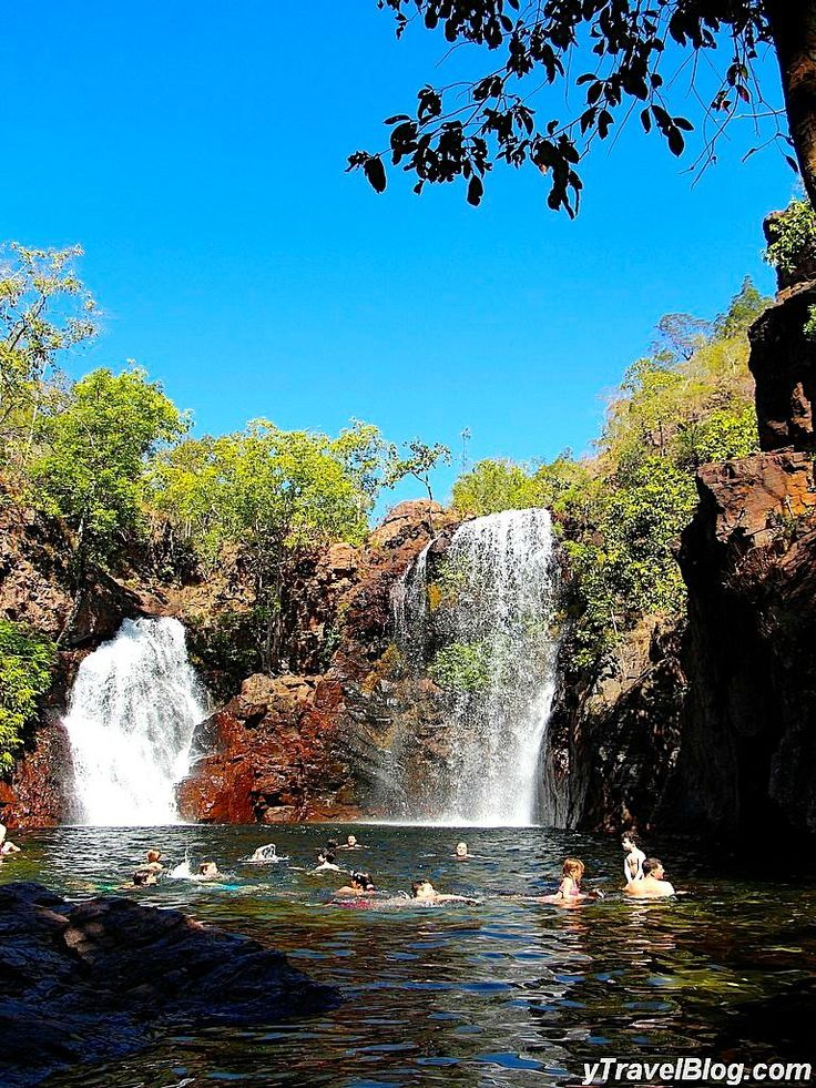 Florence Falls in Litchfoeld National Park, Australia - More on the blog!