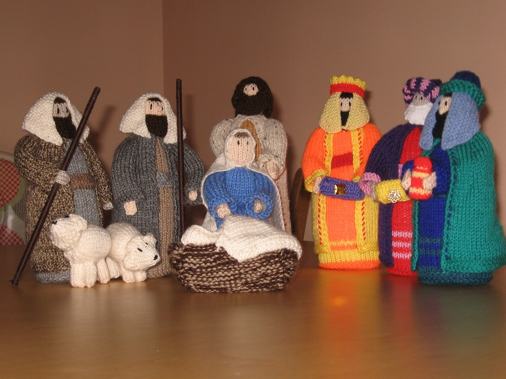 Ravelry: helenfp's Jean Greenhowe Christmas Special Nativity