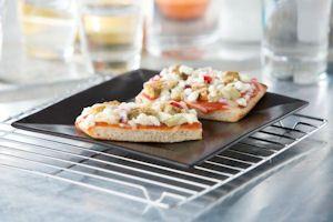 MorningStar Farms® Mediterranean Artichoke Pizza – made with our Mediterranean Chickpea Burger
