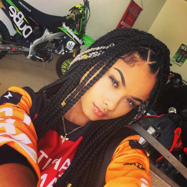 India Love Box Braids - Google Search