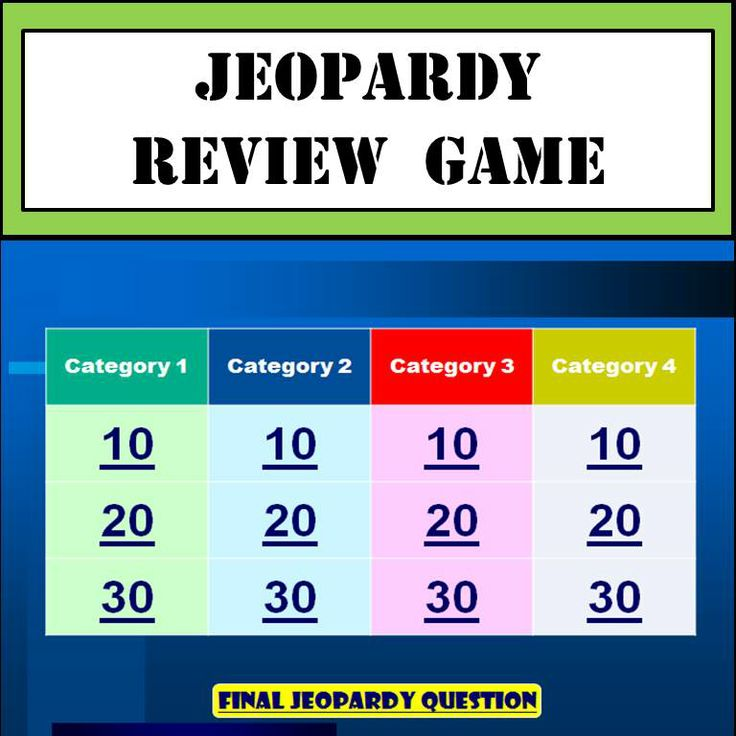 131 best kids church GAMES images on Pinterest Game, Activities - jeopardy template