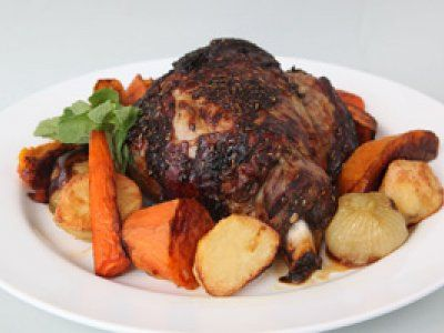 Roast lamb with mint and rosemary - Spring recipes | Australian Natural Health Magazine