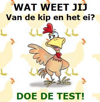 * Wat weet jij van de kip en het ei? Verschillende activiteiten...