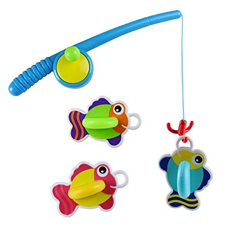 From 10.99:Bath Toy Bathtub Fun Time Games Set Fishing Floating Toys Best Gift For Boys And Girls Over 3 Years Old