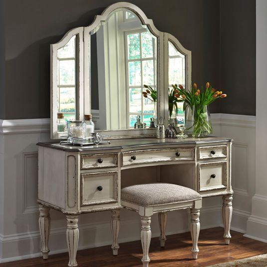 Fabulous Savannah Vanity With Stool In Antique White Jeromes Download Free Architecture Designs Aeocymadebymaigaardcom