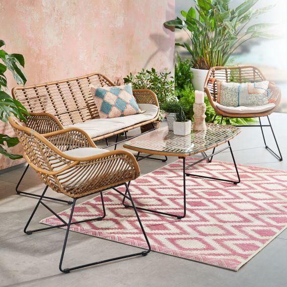 Outdoor Lounge Set 4 Tlg Halong Gartenmobel Outdoor Mobel Gartenmobel Sets