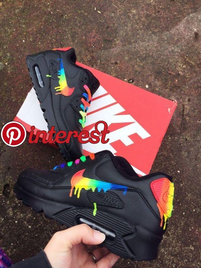 Ich mag diesen Nike Air Max 90 Candy Drip Regenbogen