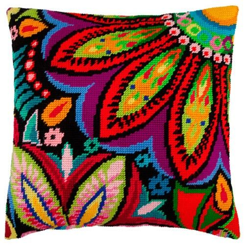 Maharaja pillowcase cross stitch DIY embroidery kit