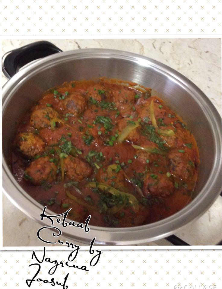 Kebaab curry