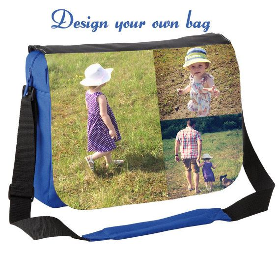 Personalized messenger bag Photo messenger bag by cjcprint on Etsy