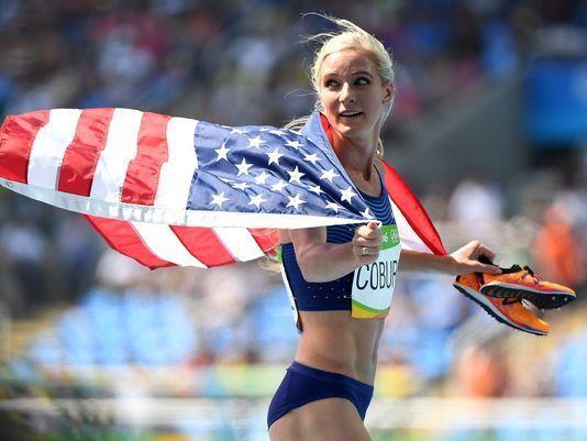 Emma Coburn takes bronze in women's 3,000 steeplechase