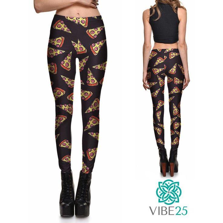 Vibe25 Pizza Leggings